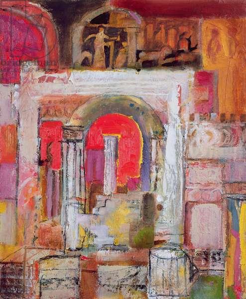 Pompeii, 2003-04 (oil on canvas)