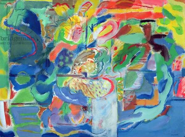 High summer, 1989-91 (oil on canvas)