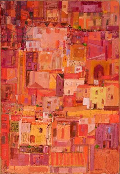 ltalian Journey (oil on canvas)