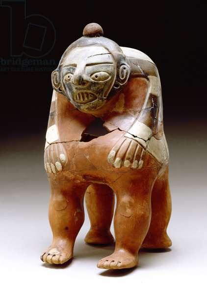Human effigy urn, 600-900 (ceramic)
