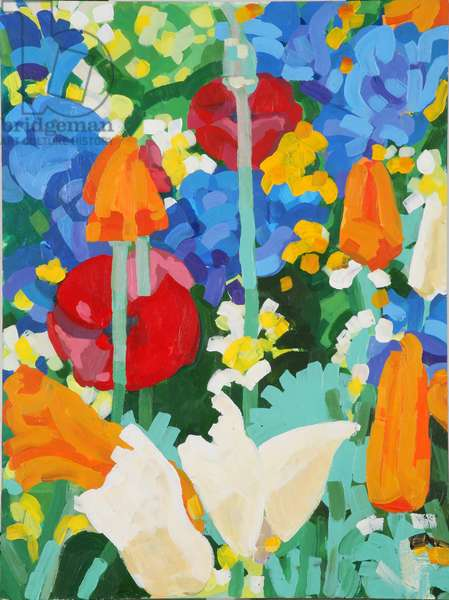 Chelsea Medal Winner - Fetzer Wines - Garden, 2007 (acrylic on board)