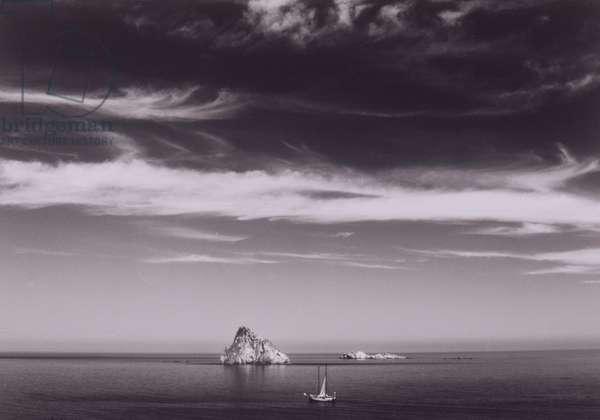 Sailboat and Island