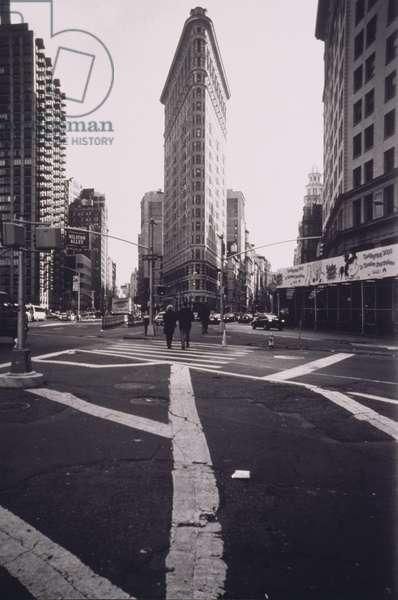 Crosswalk by Flatiron Building