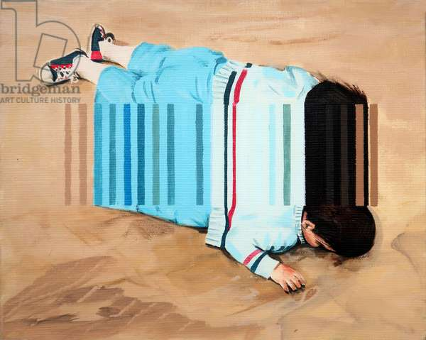 Beached, 2019 (acrylic on canvas)