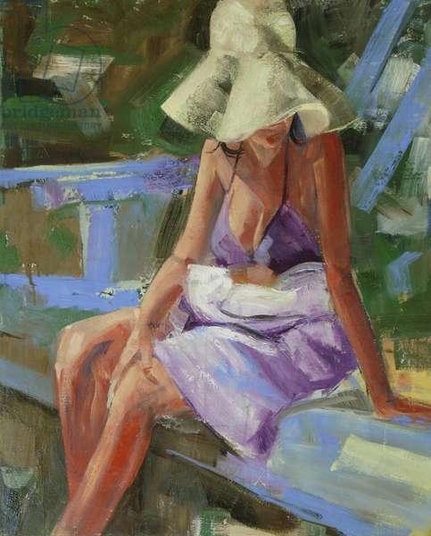Soft Dove, 2008 (oil on linen)