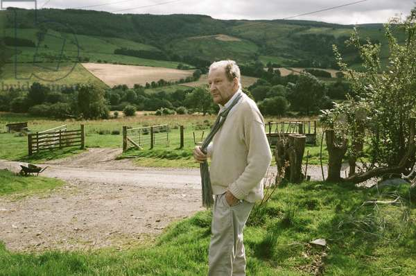 Lucian Freud, Montgomeryshire, Wales, 2010 (photo)