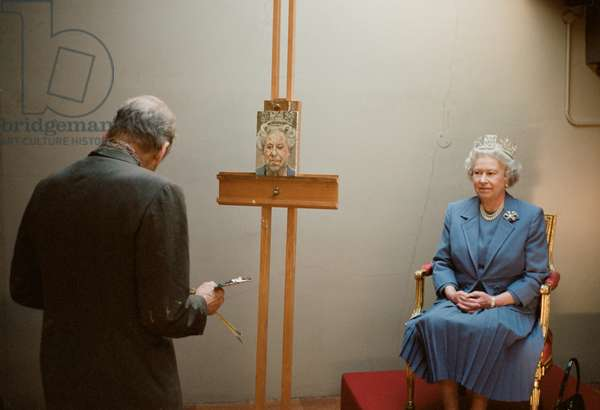 HM Queen Elizabeth II, 2001 (c-type photo)