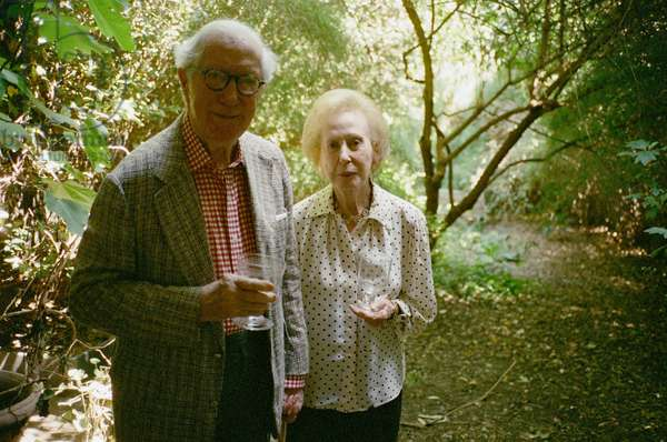 John Russell and Rosamund Bernier, 2007 (photo)