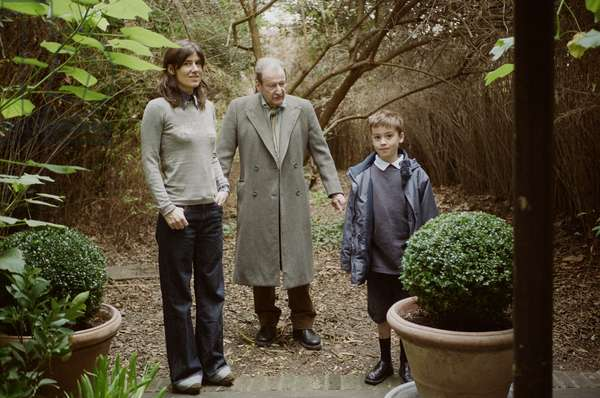Lucian Freud, Bella Freud and Jimmy Fox, 2007 (photo)