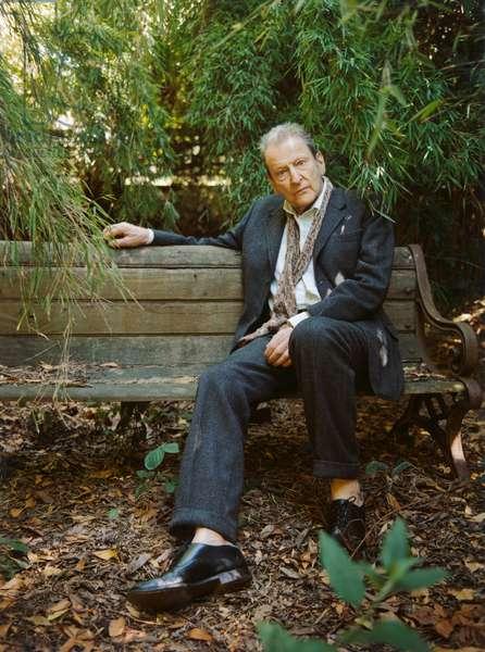 Freud in the garden, 2006 (photo)