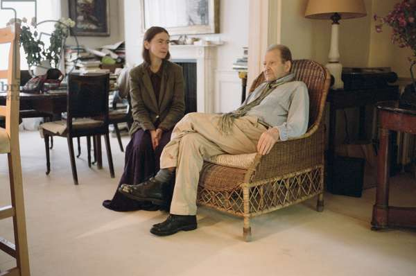 Celia Paul with Lucian Freud, 2010 (photo)