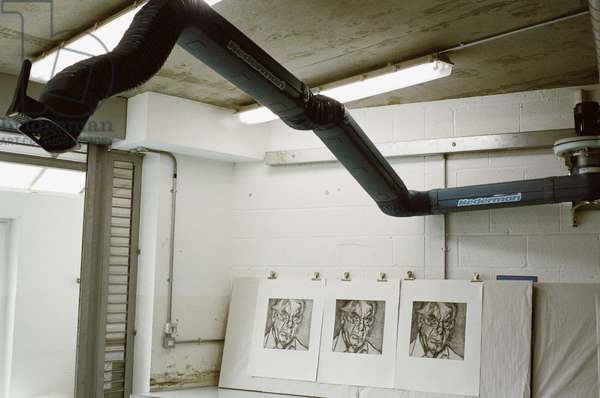 London Print Studios, Harrow Road, 2006 (photo)
