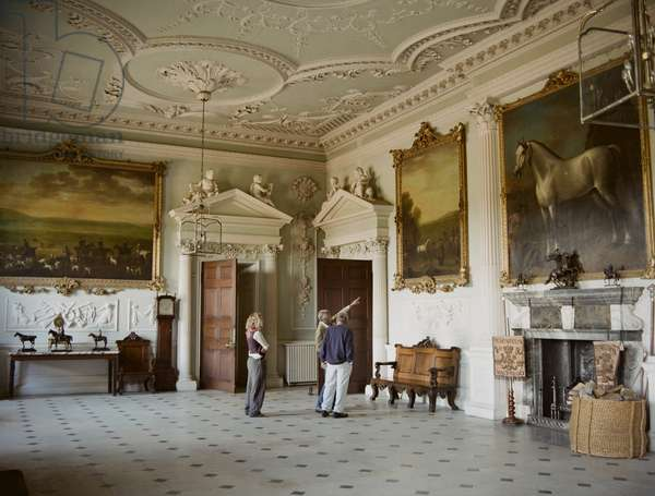 Lucian Freud, Ria Kirby, and the Duke of Beaufort, Badminton House, Gloucestershire, 2006 (photo)