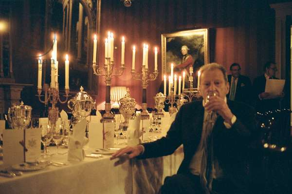Dinner at White's, to celebrate the publication of the third volume of John Richardson's biography of Picasso, St. James's, London, 2007 (photo)