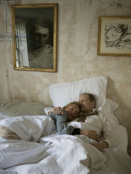 Lucian Freud and Kate Moss in Bed, 2010 (photo)