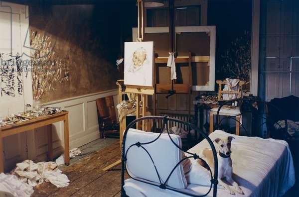 A Night Sitting for David Dawson, 2003 (c-type photo)
