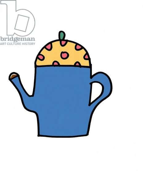 Spotty Tea Pot