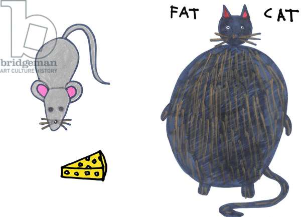Mouse with Fat Cat