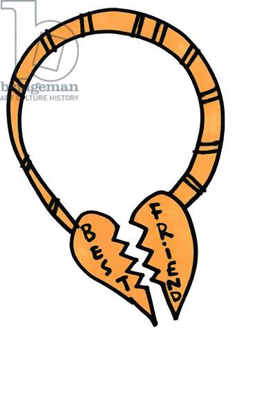 Broken Best Friend Necklace