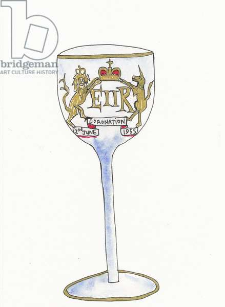 Coronation Wine Glass