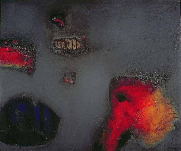 Seahorse, 1999 (oil on canvas)