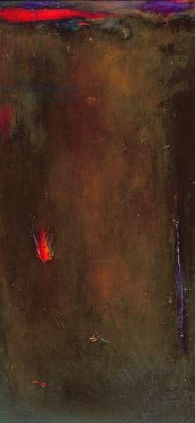 Golden Desert (oil on canvas)
