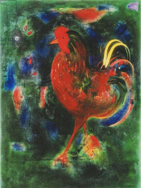 Cockerel, 2005 (giclee print)