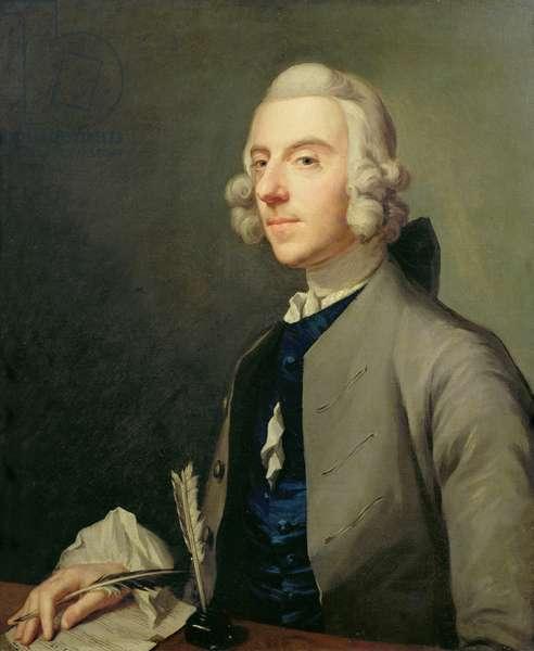 Portrait of Michael Arne (1740-86), c.1762-83 (oil on canvas)