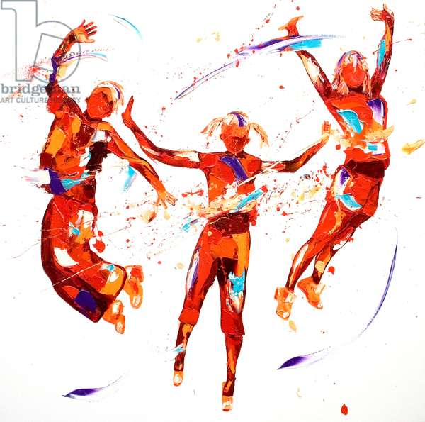 Exuberance, 2012, (oil on canvas)