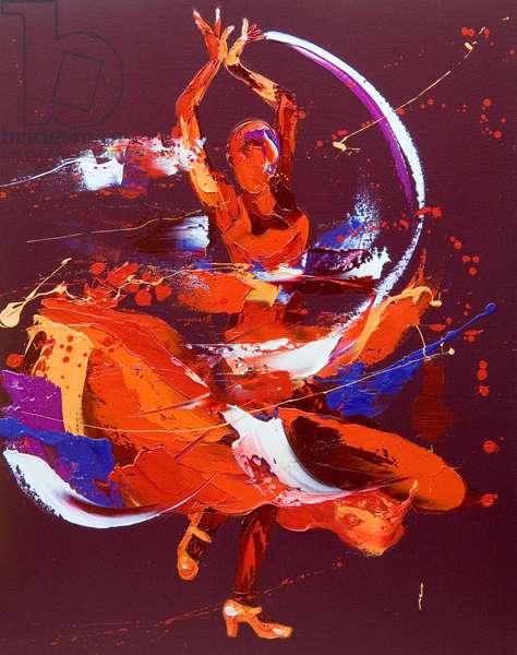 Spanish Energy, 2007, (oil on canvas)