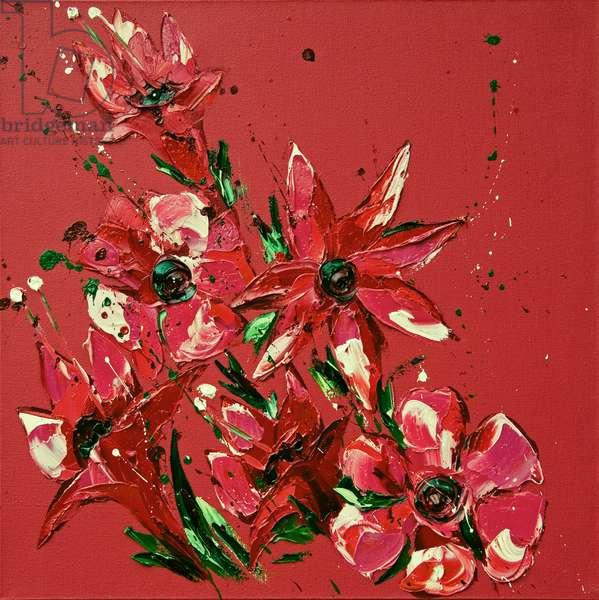 Flower, 2011, (oil on canvas)