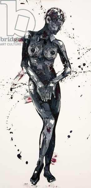 Serene, 2011, (oil on canvas)