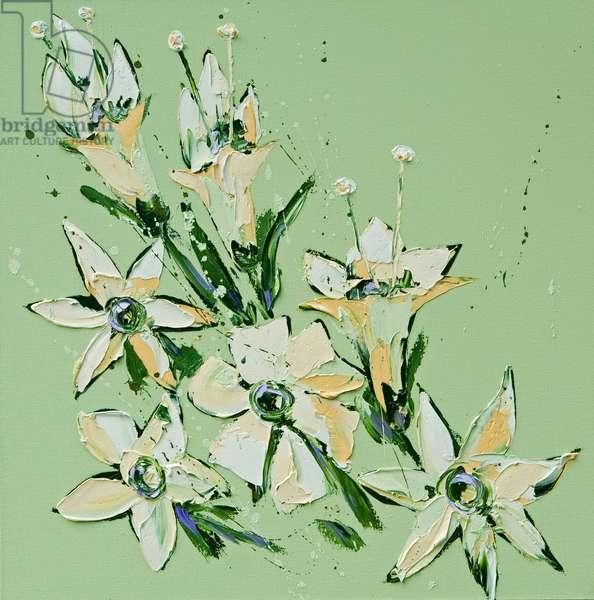 Flower, 2008, (oil on canvas)
