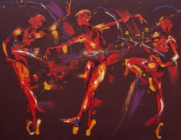 Extravaganza, 2009, (oil on canvas)