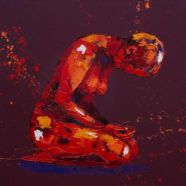 Demure, 2011, (oil on canvas)