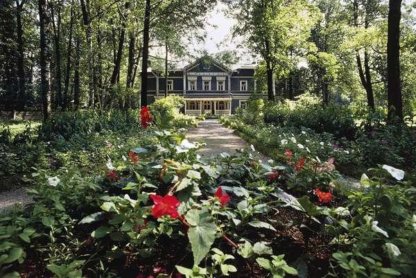 Garden of Pyotr Ilyich Tchaikovsky, Tchaikovsky House-Museum, Klin, Russia