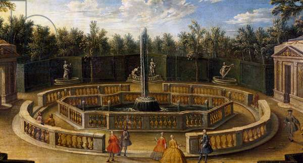 Grove of Domes in Versailles