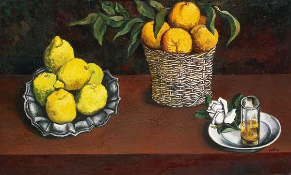 Homage to Zurbaran, by Renato Guttuso (1911-1987). Italy, 20th century.