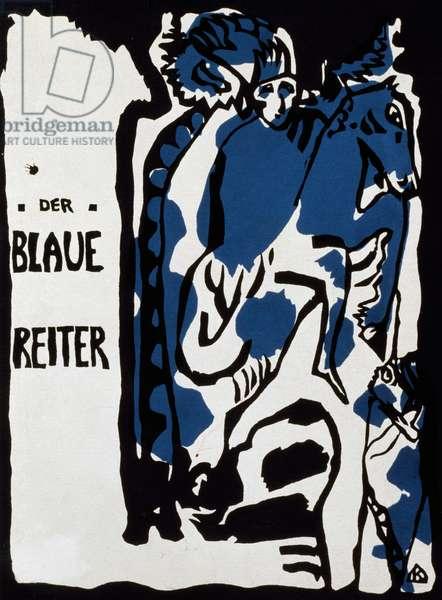 Cover of Der Blaue Reiter almanac, 1912