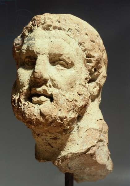 Head of Hercules, sculpture from Kherson, Ukraine, Greek Civilization, 3rd-2nd Century BC
