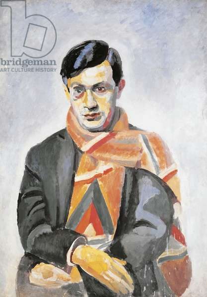 Portrait of Tristan Tzara, 1923 (oil on canvas)