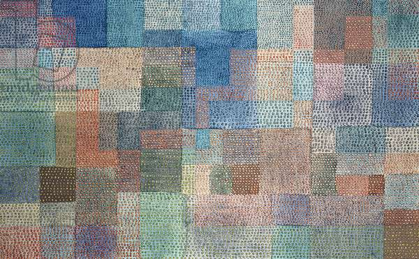 Polyphony, 1932 (oil on canvas)