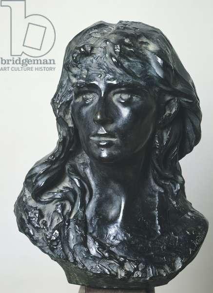 Mignon (Portrait of Rose Beuret), by Auguste Rodin (1840-1917), portrait