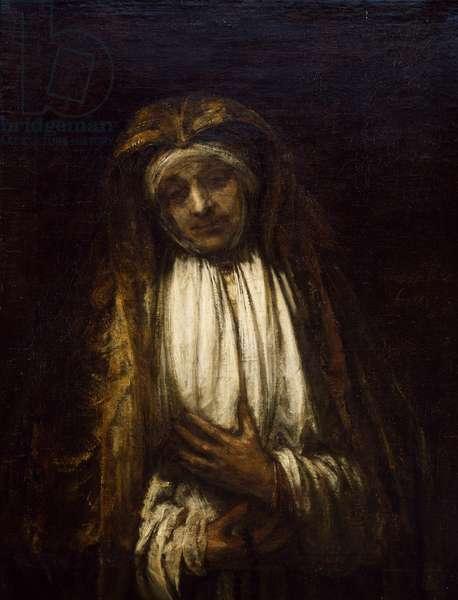The Virgin of Sorrow, 1661 (oil on canvas)