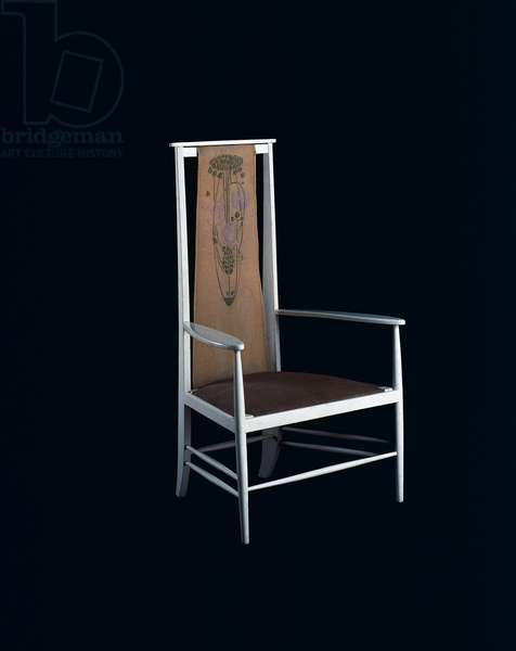 Chair designed by Charles Rennie Mackintosh (1868-1928), United Kingdom, 19th century