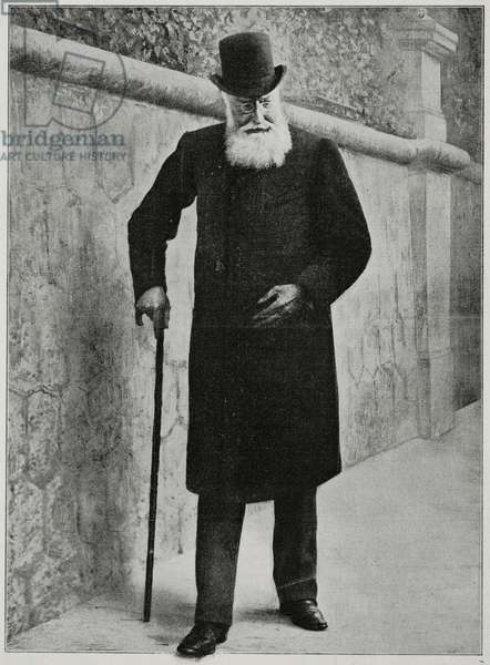 King Leopold II of Belgium (1835-1909), illustration from L'Illustration, No 3486, December 18, 1909