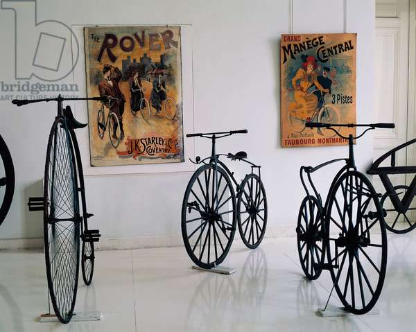 Series of velocipedes produced by Pierre Michaux (1813-1883), France, 19th century