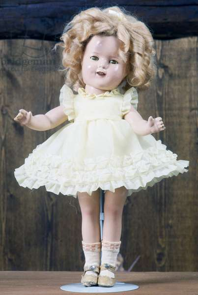 Shirley Temple doll after restoration