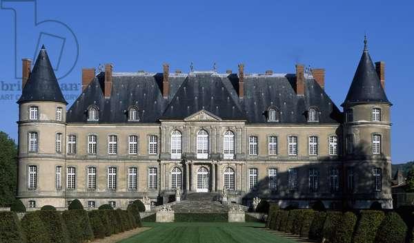 Chateau de Craon, 1720-1729, by Germain Boffrand (1667-1754), Haroue, Lorraine. France, 18th century.