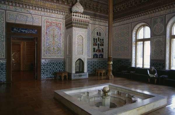 Room in the Museum of Applied Art, Tashkent, Uzbekistan